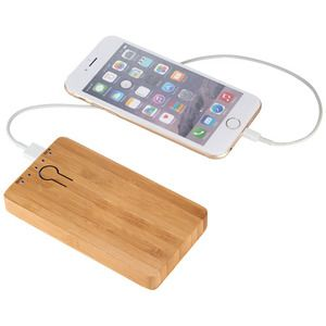 123676 Avenue Powerbank PB-5000 Bamboo Thumbnail